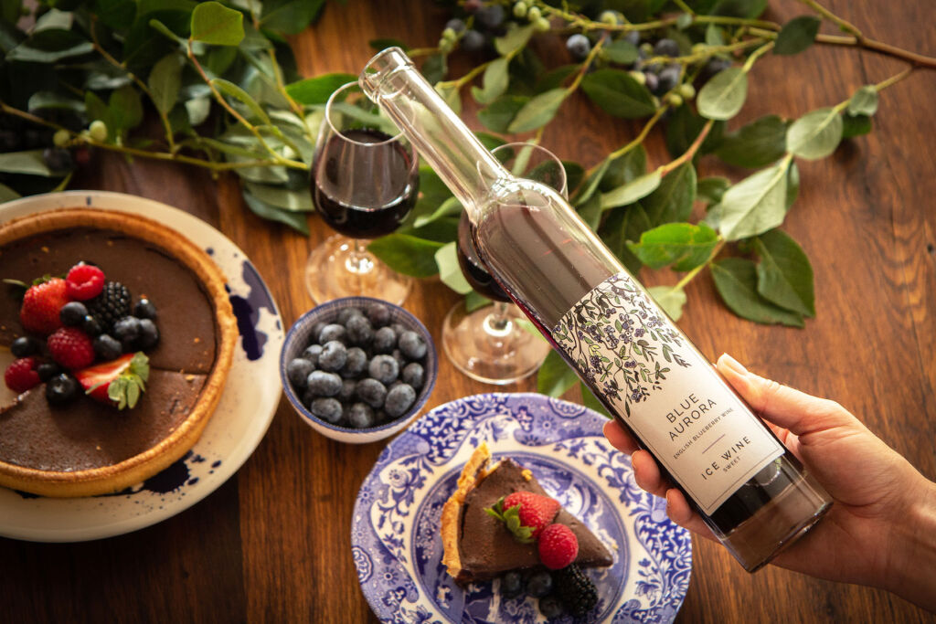Reserve a Space for Blue Aurora's Blueberry Wine at your Next Get-together