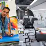 Mr Colorful Cyril Kongo and Airbus to Bring Art and Luxury to the Skies