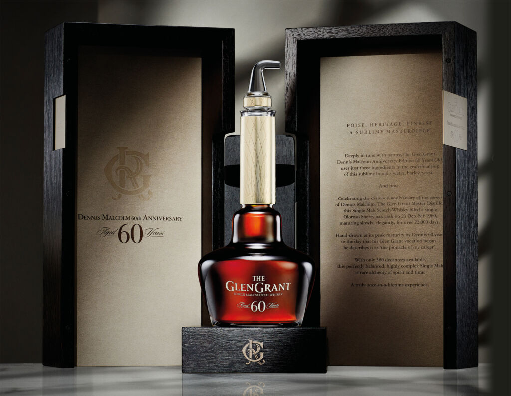 Glen Grant Distillery Honours Dennis Malcolm With 60 Year Old Whisky