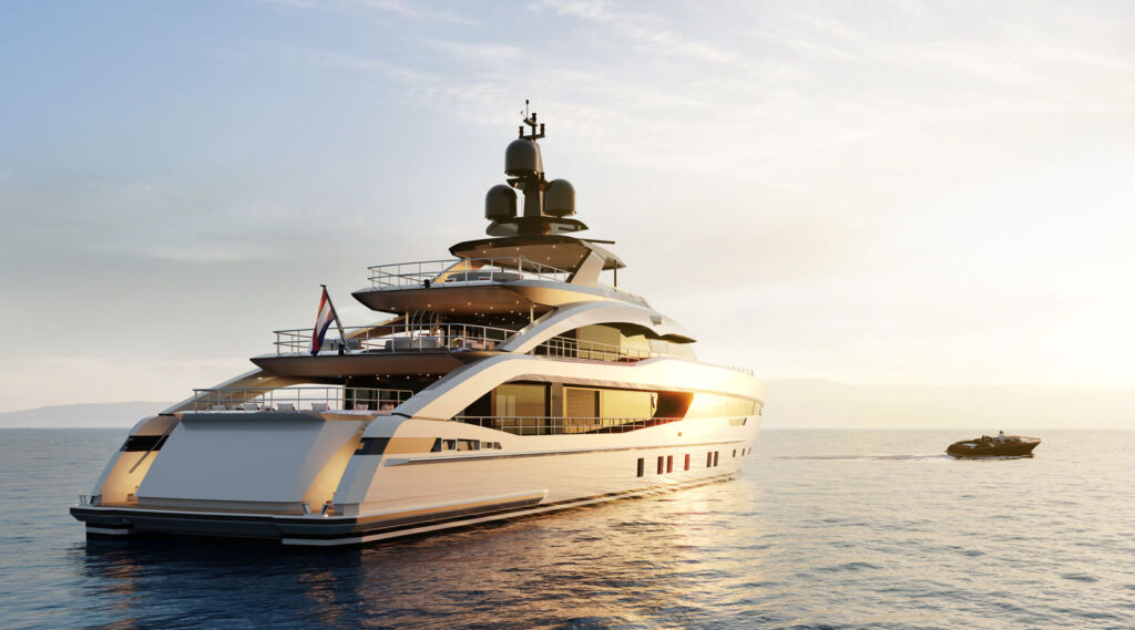 Heesen Yachts' Project Sapphire Books its Place on The High Seas
