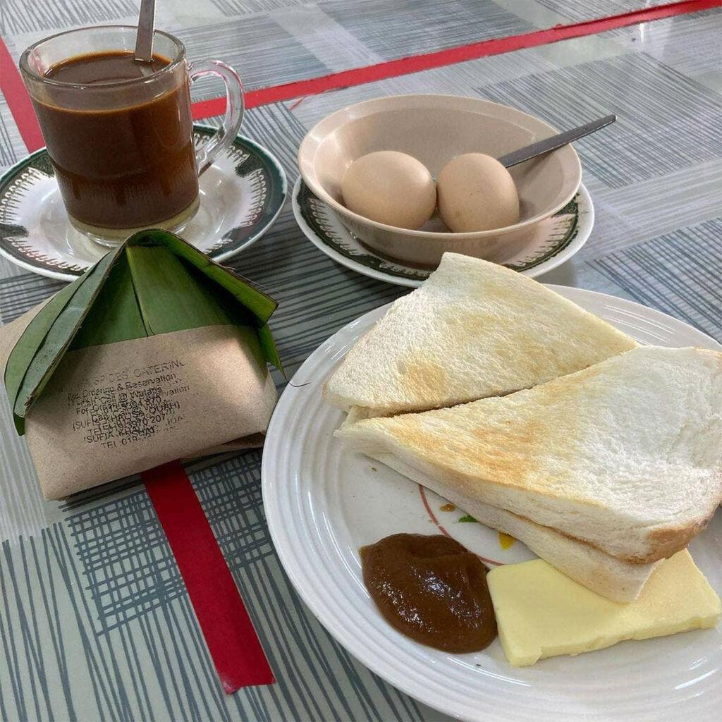 The traditional Kopitiam at Kedai Makan Hailam Sun Sun Nam Cheong