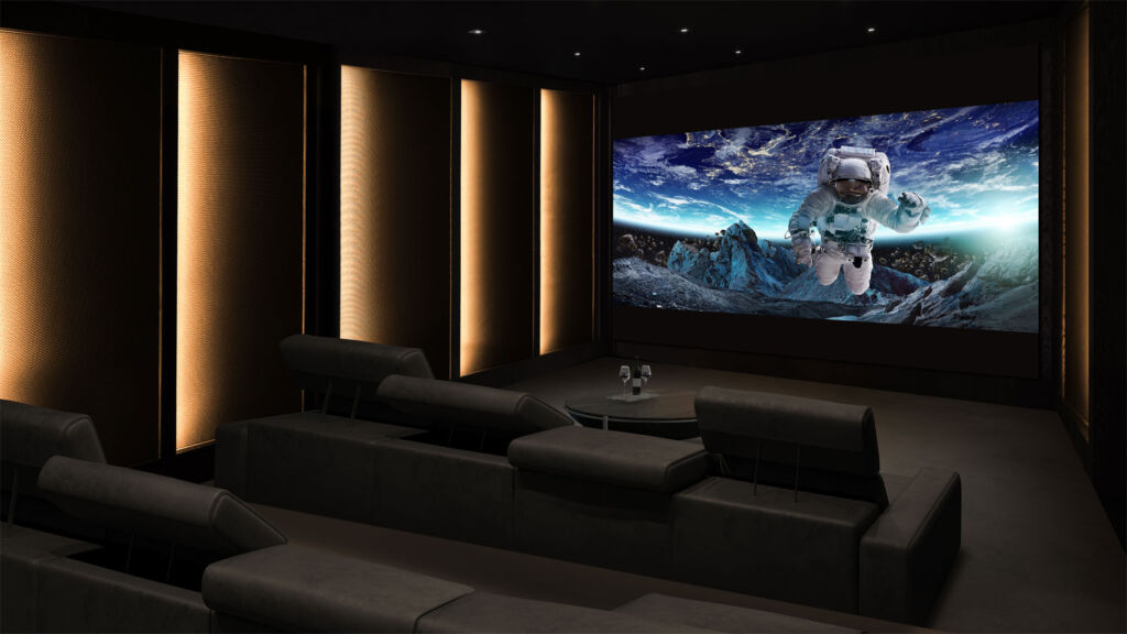 In the right room with correct lighting, the LG DVLED Extreme could match a high-end standard cinema