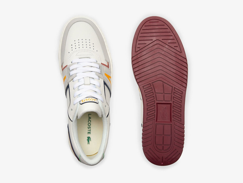 A top view of the trainers which also shows the flat sole
