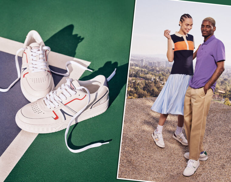 Lacoste Launch Their L 001 as a Foot Into a New Era