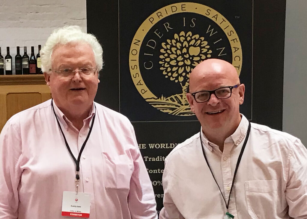 Roddy Kane and Alistair Morrell of Cider is Wine