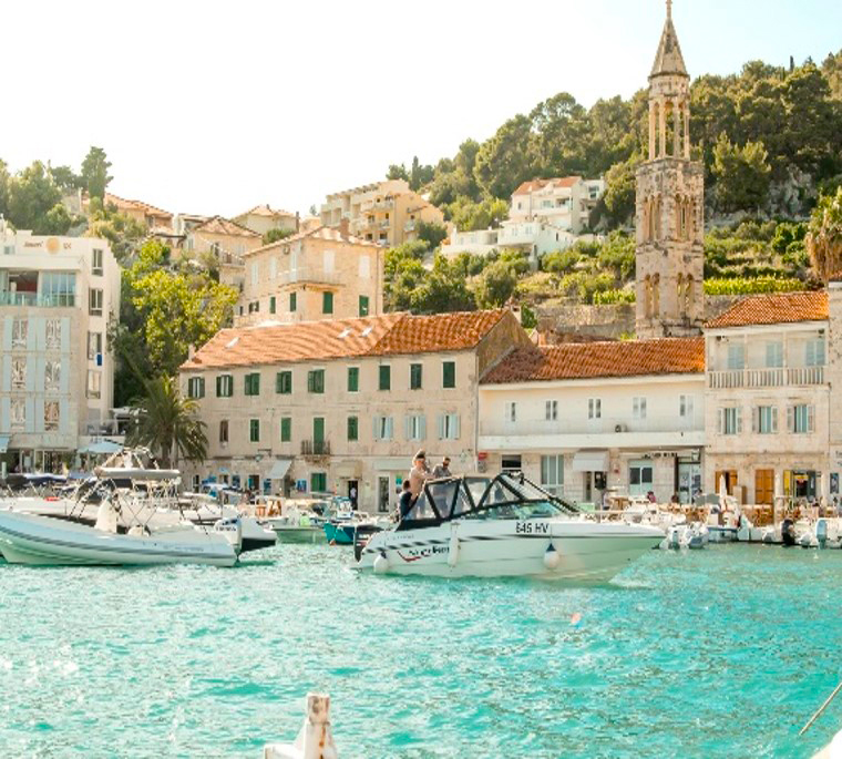 The private speedboat tour in Split