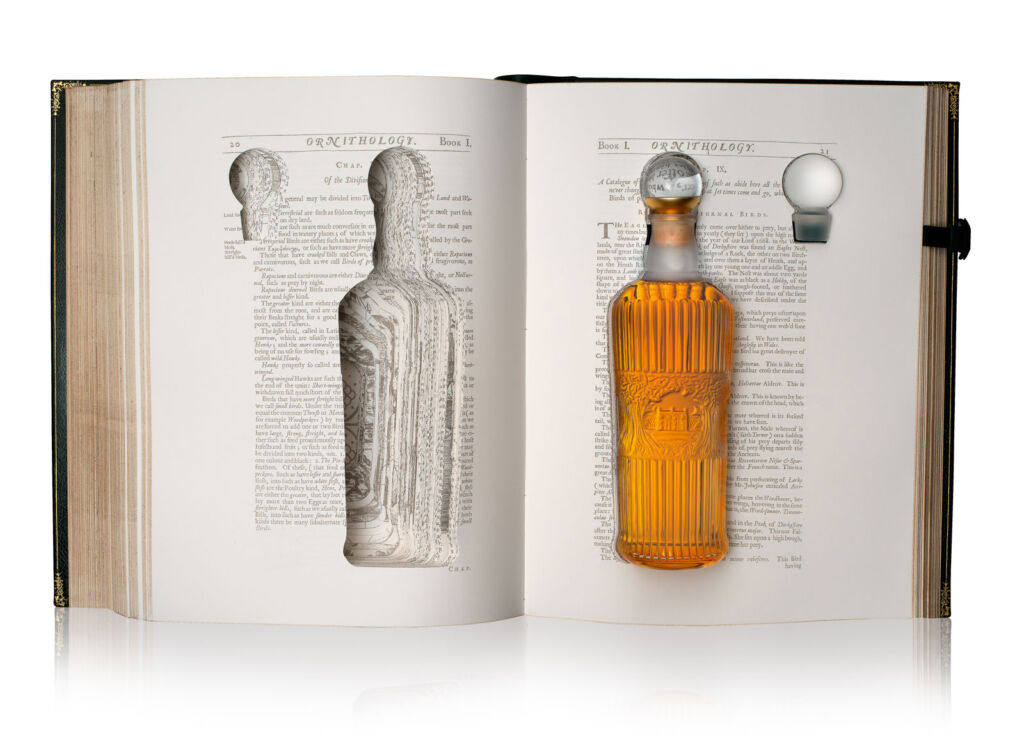 Tales of The Macallan Volume I in its opened case