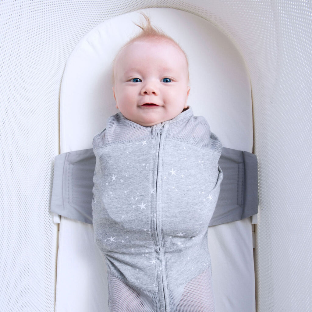The Happiest Baby SNOO Sack in a grey colour