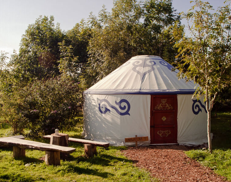 Glamping In Style at Plush Tents Glamping Yurts in the South Downs