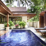 A deluxe villa with pool at Santiburi Koh Samui