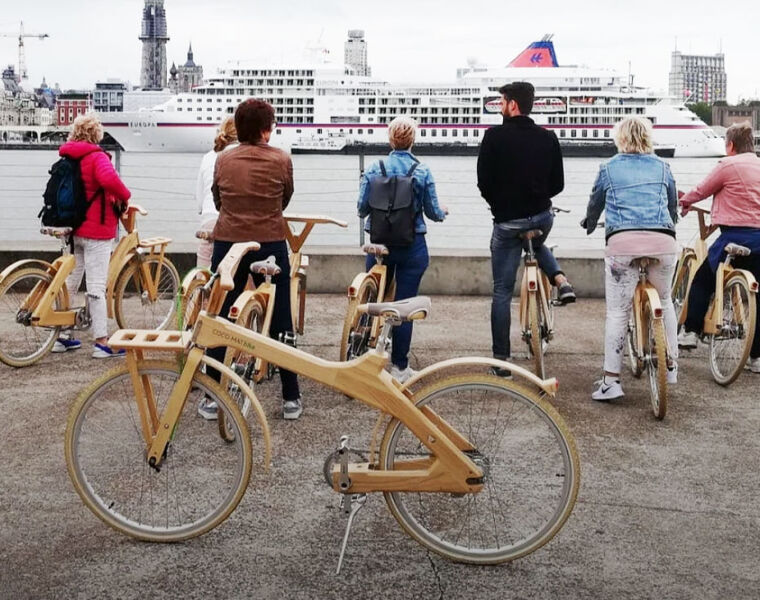 Coco-Matbike's Hand Crafted Wooden Bikes - Designed to Help the Planet