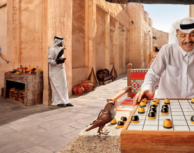 Qatar Tourism's Experience a World Beyond campaign seeks to bring in millions of new visitors each year