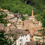Some of the historic buildings in the Canton of Vaud