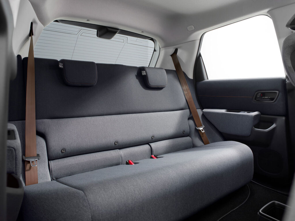 The clever design of the car allows for a surprising amount of interior room