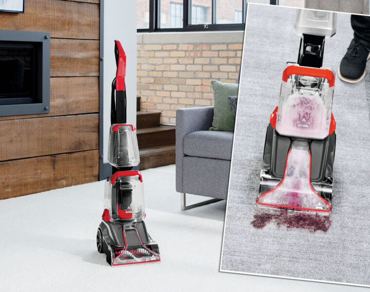 This Autumn Get Down But Not Dirty With Bissell PowerClean Carpet Cleaner