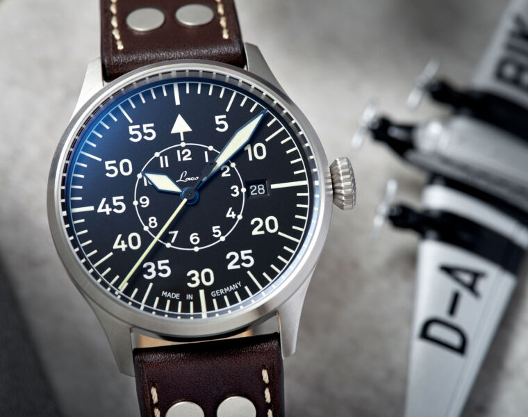 A Closer Look at the New Laco Flieger Pro Pilot Watches