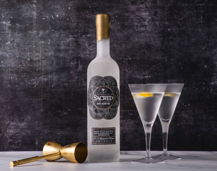 Sacred Spirits Dry Martini Brings the True Flavour of Bond into your Home