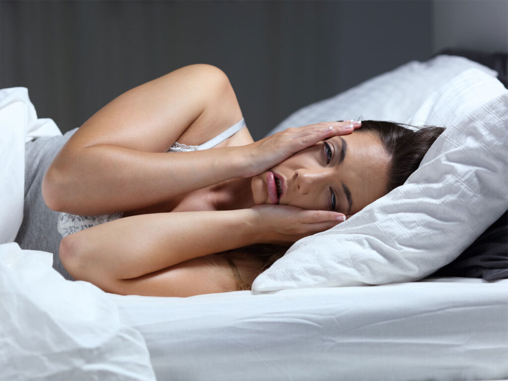 Is the Stresses of Everyday Life the Major Cause of a Bad Night's Sleep?