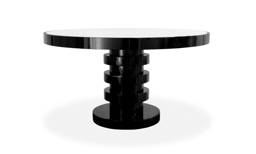 The Brabbu Shinto round dining table
