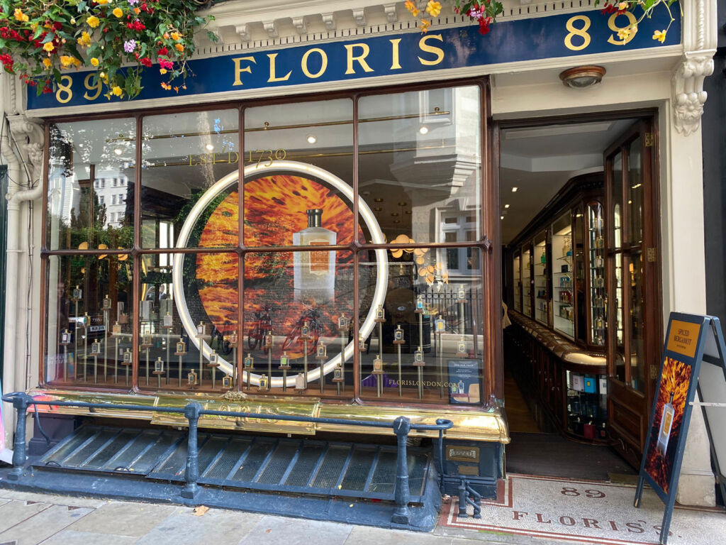 The exterior of 89 Floris in London