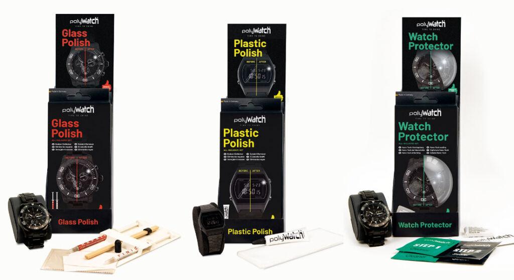 The three kits available from the company